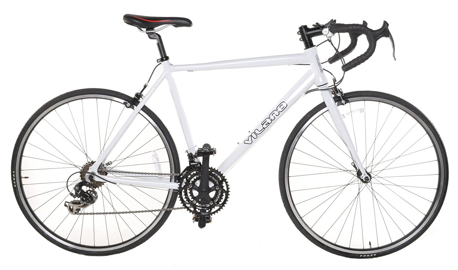 Vilano Aluminum Road Bike White