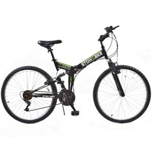 Stowabike 26 MTB V2 Folding Dual Suspension 18 Speed Shimano Gears Mountain Bike Review